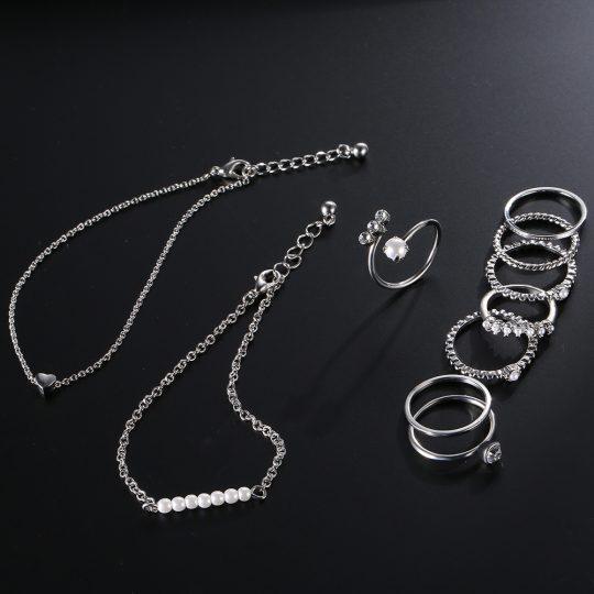 Sõrmuste ja käeehete komplekt-8547
