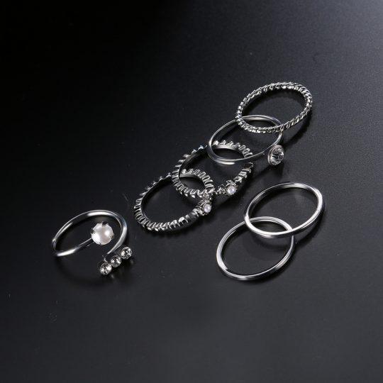 Sõrmuste ja käeehete komplekt-8548